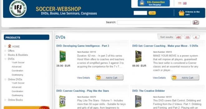 Soccer-Webshop – Soccer DVDs – Soccer Books