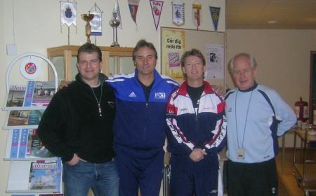Soccer Coaches Seminar in Åmål, Sveden 2006