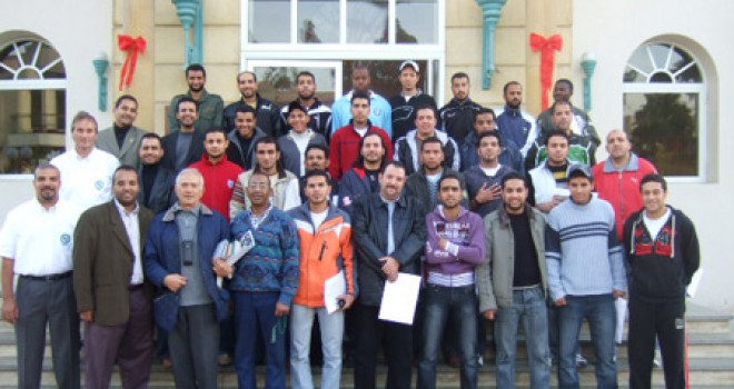Soccer Coaches Seminar in Cairo 2007
