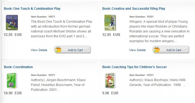 Soccer Books and Booklets
