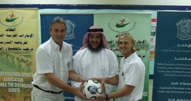 Soccer Coaches Seminar 2009 Peter Schreiner in Dubai