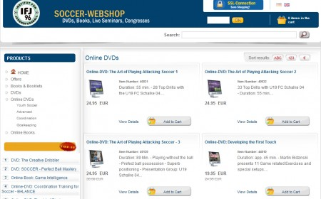 German Soccer DVDs