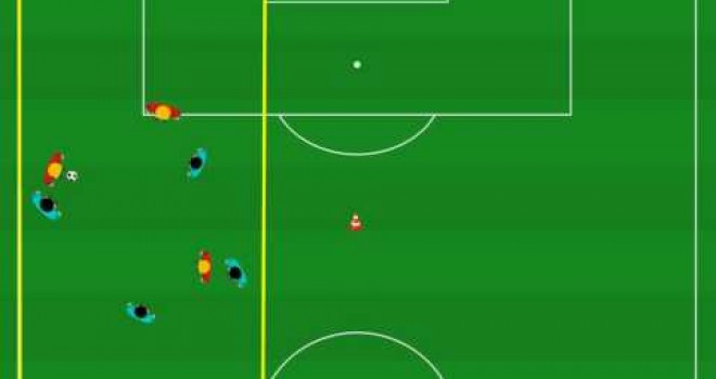 Coaching Soccer Tactics: Practices For Midfield Pressing In Soccer