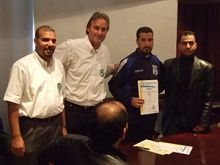 Certificate for Soccer coaches